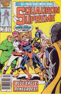 Cover Thumbnail for Squadron Supreme (Marvel, 1985 series) #11 [Newsstand Edition]