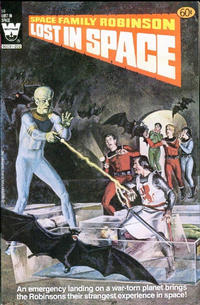 Cover Thumbnail for Space Family Robinson, Lost in Space on Space Station One (Western, 1974 series) #58 [White Logo Variant]