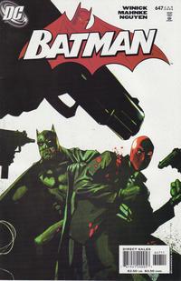 Cover for Batman (DC, 1940 series) #647 [Newsstand]
