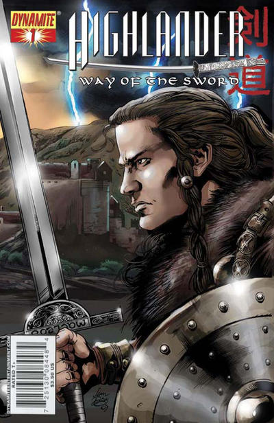 "Cover for Highlander: Way of the Sword (Dynamite Entertainment, 2007 series) #1 [""Left"" Cover A]"