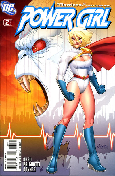 Cover for Power Girl (DC, 2009 series) #2 [Conner Variant]