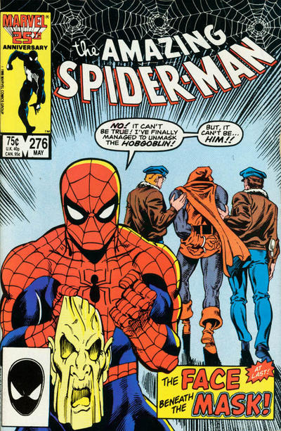 Cover for The Amazing Spider-Man (Marvel, 1963 series) #276 [Direct Edition]
