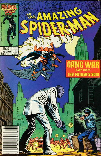 Cover for The Amazing Spider-Man (Marvel, 1963 series) #286 [Newsstand]