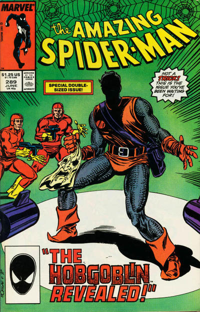 Cover for The Amazing Spider-Man (Marvel, 1963 series) #289 [Newsstand]