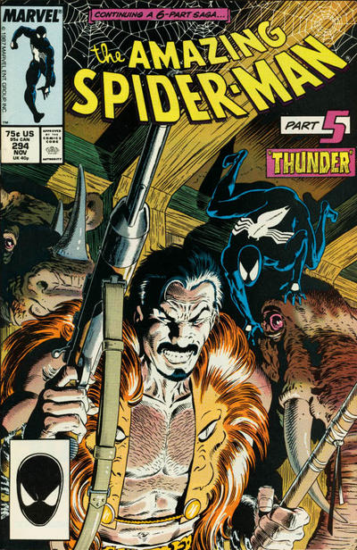 Cover for The Amazing Spider-Man (Marvel, 1963 series) #294 [Newsstand]
