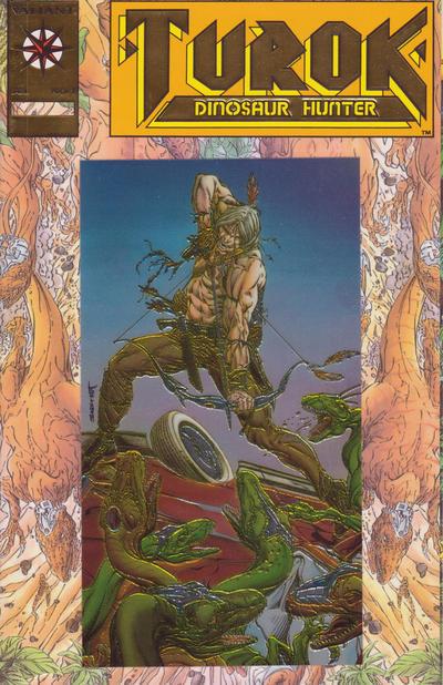 Cover for Turok, Dinosaur Hunter (Acclaim / Valiant, 1993 series) #1