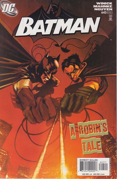 Cover for Batman (DC, 1940 series) #645 [Direct]