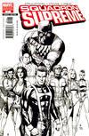 Cover for Squadron Supreme (Marvel, 2006 series) #1 [Black and White Variant]