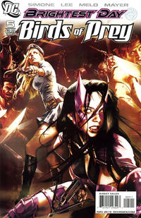 Cover Thumbnail for Birds of Prey (DC, 2010 series) #5