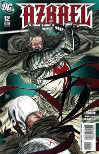 Cover Thumbnail for Azrael (DC, 2009 series) #12