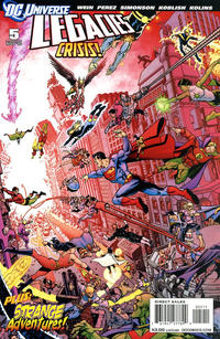 Cover Thumbnail for DCU: Legacies (DC, 2010 series) #5 [George Pérez Cover]