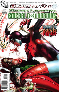 Cover Thumbnail for Green Lantern: Emerald Warriors (DC, 2010 series) #2