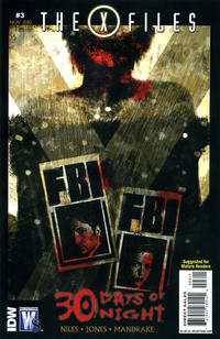Cover Thumbnail for The X-Files / 30 Days of Night (DC, 2010 series) #3