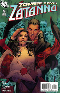 Cover for Zatanna (DC, 2010 series) #5
