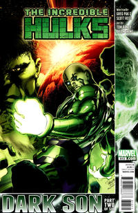 Cover for Incredible Hulks (Marvel, 2010 series) #613