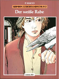 Cover Thumbnail for Grimion Lederhandschuh (Carlsen Comics [DE], 1986 series) #2 - Der weiße Rabe