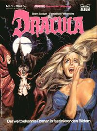 Cover Thumbnail for Gespenster-Geschichten präsentiert (Bastei Verlag, 1985 series) #1 - Dracula