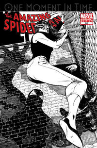 Cover Thumbnail for The Amazing Spider-Man (Marvel, 1999 series) #640 [Black and White Variant Edition]