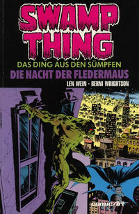 Cover Thumbnail for Swamp Thing (Carlsen Comics [DE], 1990 series) #2 - Die Nacht der Fledermaus