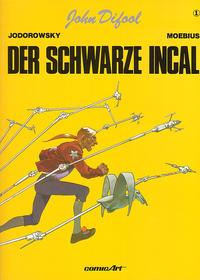 Cover Thumbnail for John Difool (Carlsen Comics [DE], 1983 series) #1 - Der schwarze Incal