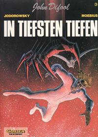 Cover Thumbnail for John Difool (Carlsen Comics [DE], 1983 series) #3 - In tiefsten Tiefen