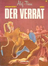 Cover Thumbnail for Alef-Thau (Carlsen Comics [DE], 1986 series) #2 - Der Verrat