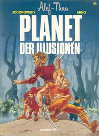 Cover Thumbnail for Alef-Thau (Carlsen Comics [DE], 1986 series) #4 - Planet der Illusionen