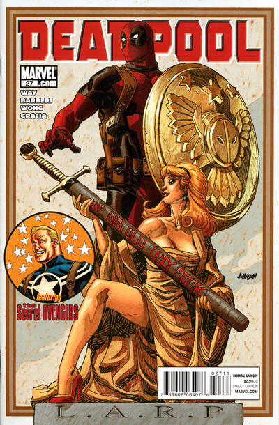Cover for Deadpool (Marvel, 2008 series) #27 [Super Hero Squad Variant Edition]