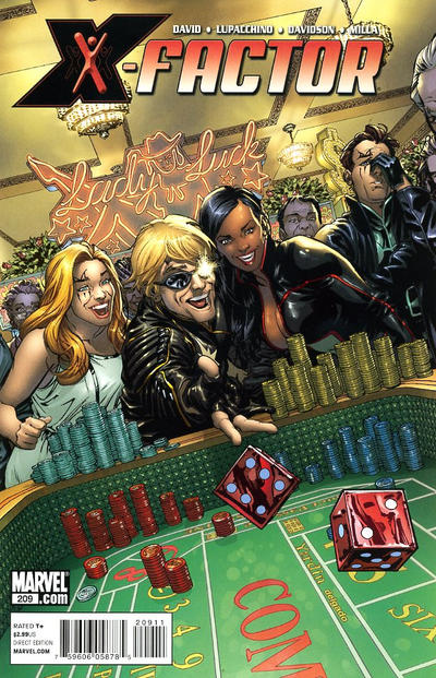 Cover for X-Factor (Marvel, 2006 series) #209