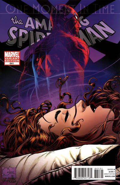 Cover for The Amazing Spider-Man (Marvel, 1999 series) #641 [Women Of Marvel Variant Cover]