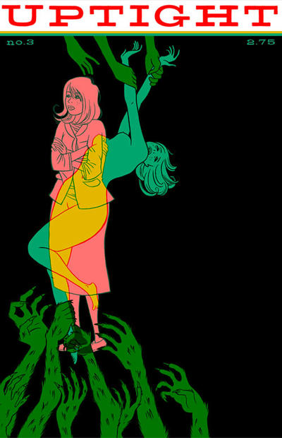 Cover for Uptight (Fantagraphics, 2006 series) #3