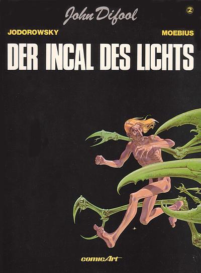 Cover for John Difool (Carlsen Comics [DE], 1983 series) #2 - Der Incal des Lichts