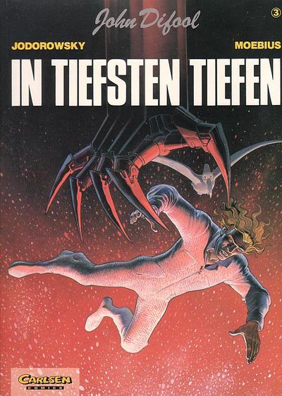 Cover for John Difool (Carlsen Comics [DE], 1983 series) #3 - In tiefsten Tiefen