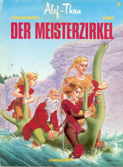 Cover for Alef-Thau (Carlsen Comics [DE], 1986 series) #5 - Der Meisterzirkel