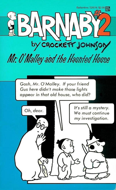 Cover for Barnaby (Ballantine Books, 1985 series) #2 - Mr. O'Malley and the Haunted House