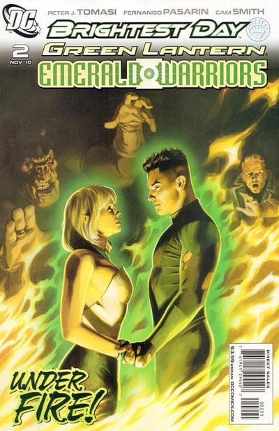 Cover for Green Lantern: Emerald Warriors (DC, 2010 series) #2