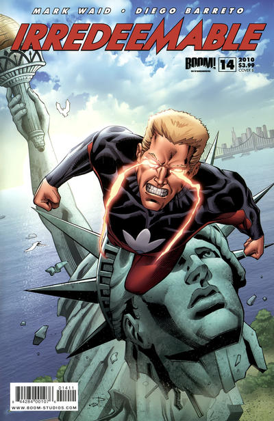 Cover for Irredeemable (Boom! Studios, 2009 series) #14 [Cover A]