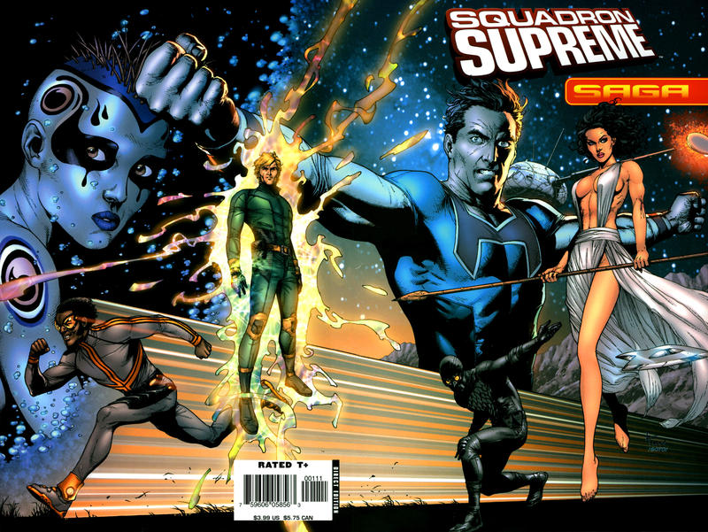 Cover for Saga of Squadron Supreme (Marvel, 2006 series) #[nn]