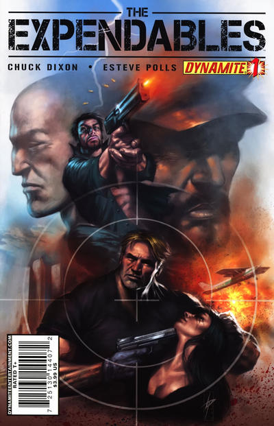 Cover for The Expendables (Dynamite Entertainment, 2010 series) #1