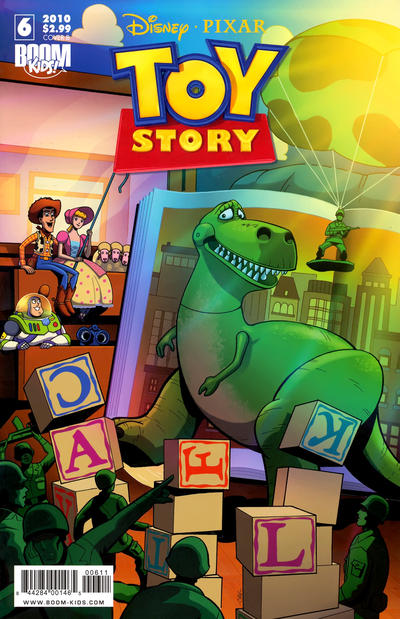 Cover for Toy Story (Boom! Studios, 2009 series) #6 [Cover A]