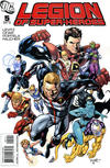 Cover for Legion of Super-Heroes (DC, 2010 series) #5 [Direct Sales]