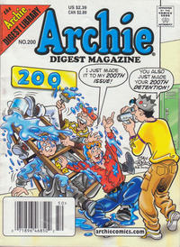 Cover Thumbnail for Archie Comics Digest (Archie, 1973 series) #200 [Newsstand]