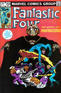 Cover Thumbnail for Fantastic Four (Marvel, 1961 series) #254 [Direct Edition]