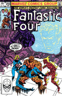 Cover Thumbnail for Fantastic Four (Marvel, 1961 series) #255 [Direct Edition]
