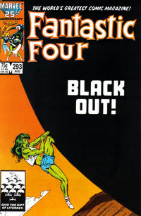Cover Thumbnail for Fantastic Four (Marvel, 1961 series) #293 [Direct Edition]