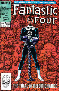 Cover Thumbnail for Fantastic Four (Marvel, 1961 series) #262 [Direct]
