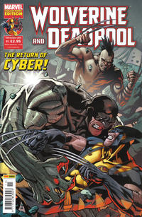 Cover Thumbnail for Wolverine and Deadpool (Panini UK, 2010 series) #11