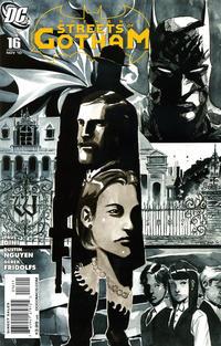 Cover Thumbnail for Batman: Streets of Gotham (DC, 2009 series) #16