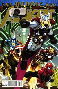 Cover Thumbnail for Avengers (Marvel, 2010 series) #5