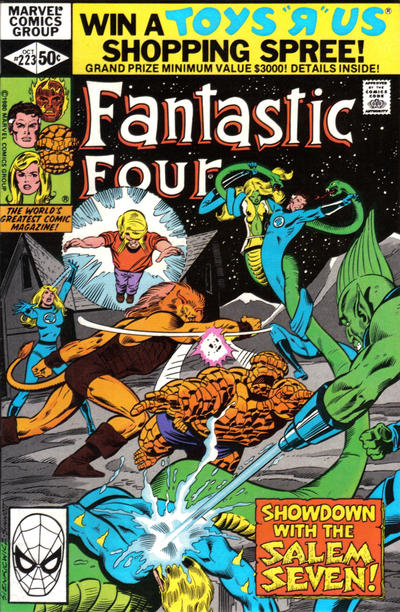 Cover for Fantastic Four (Marvel, 1961 series) #223 [Newsstand Edition]